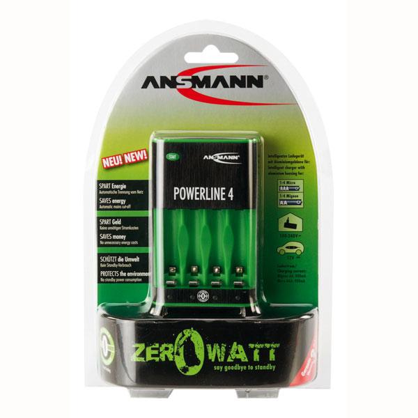 Powerline 4 Steckerladegerät Zero Watt