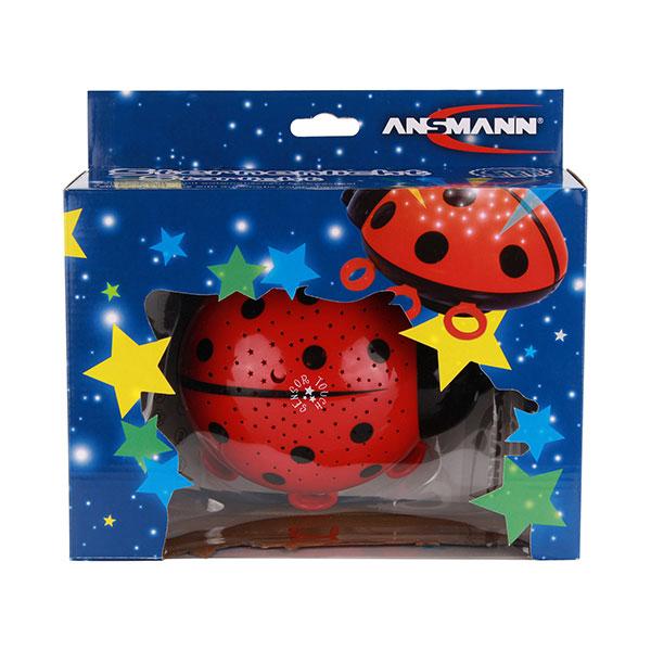 Marienkäfer Sternenlicht rot/schwarz